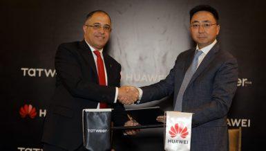 Tatweer Misr, Huawei