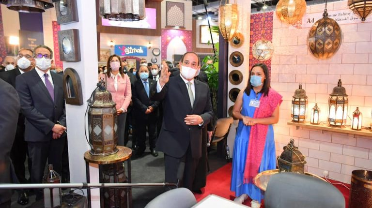 Al-Sisi inaugurates 3rd edition of Turathna Exhibition for handicrafts, heritage arts