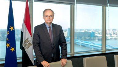Head of the European Union (EU) Delegation to Egypt, Christian Berger