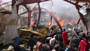Second air strike this week hits capital of Ethiopia's Tigray