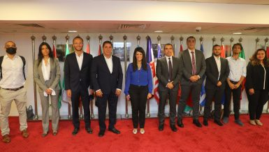 International Cooperation Minister meets startups participating in Africa-France Summit