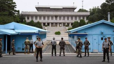 North Korea, Sourth Korea restore cross-border hotline